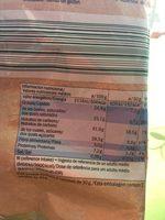 Bio mini galettes de riz chocolat au lait - Ingredientes - en