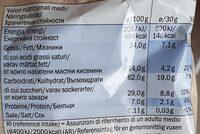 Mini galettes de riz Chocolat au lait - Informazioni nutrizionali - de