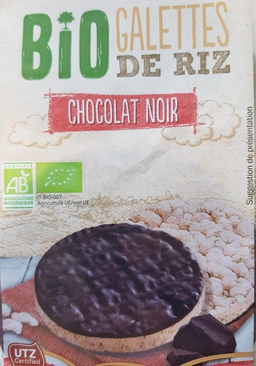 Galettes de Riz au Chocolat Noir BIO - Prodotto - en