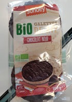 Galettes de Riz au Chocolat Noir BIO - Produit - fr