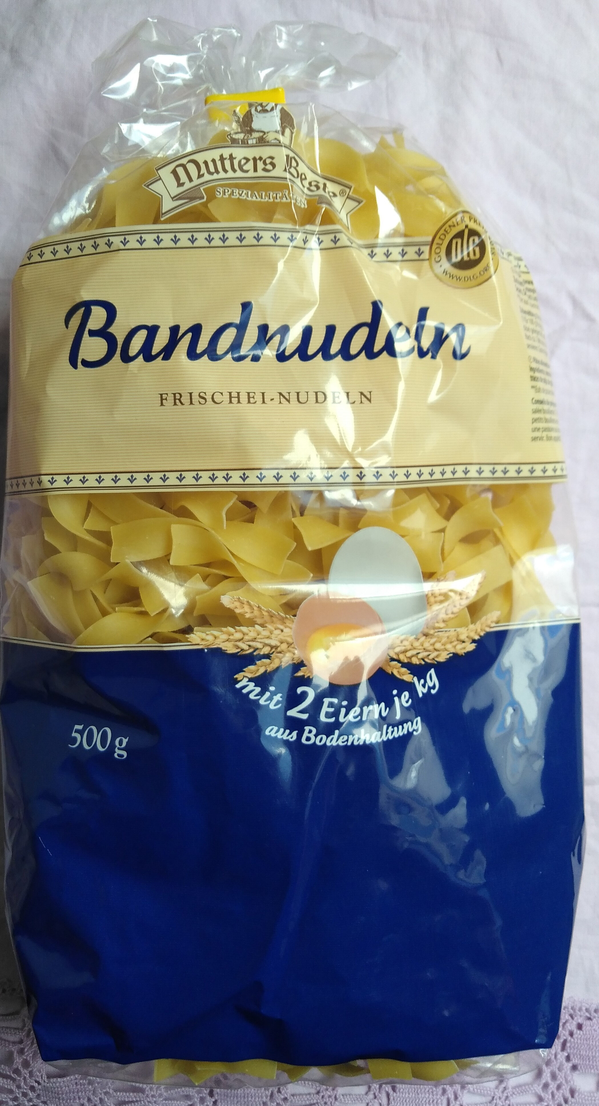 Bandnudeln Frischei-Nudeln - Product