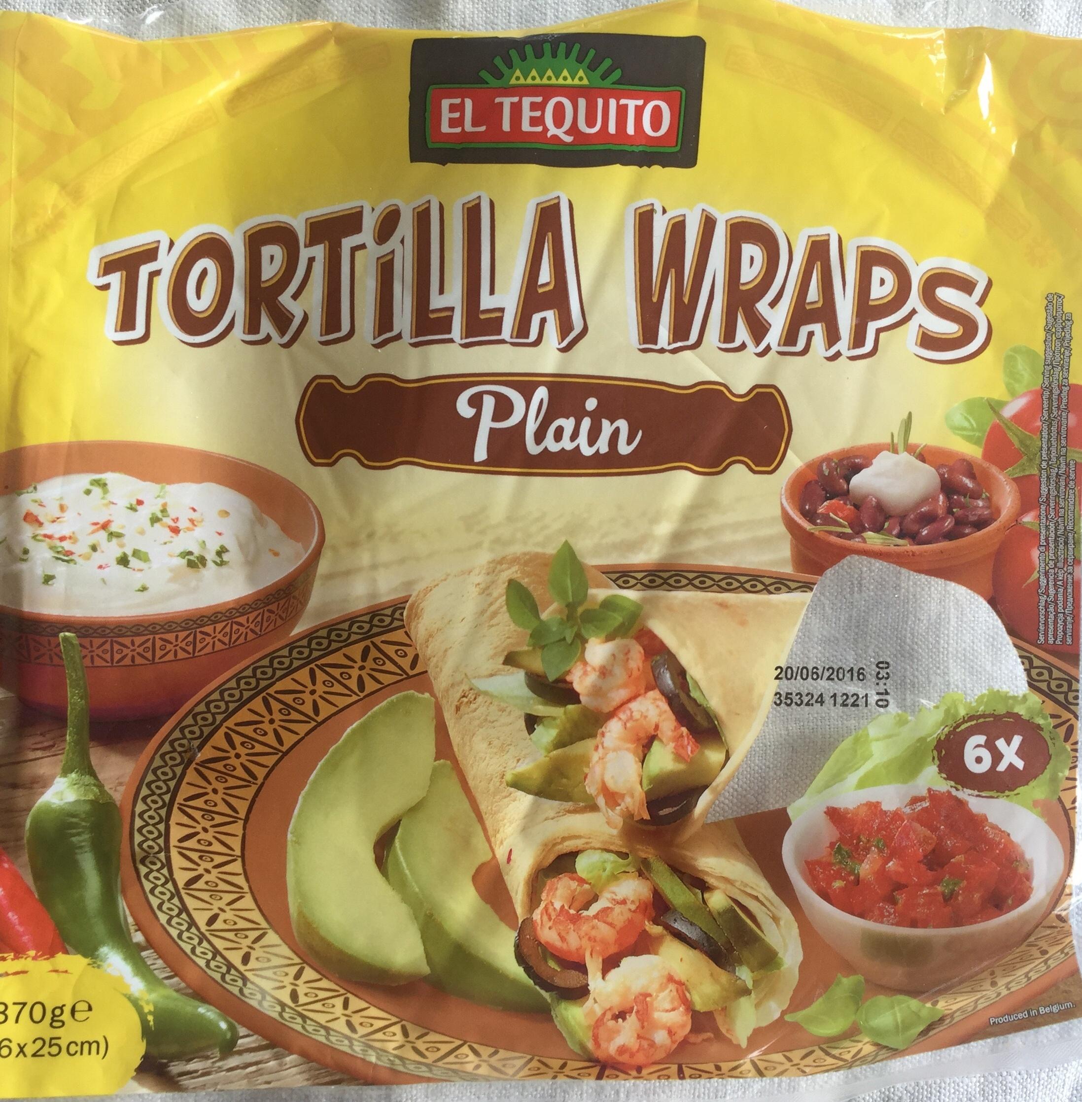 Tortillas à base de farine de blé - Produkt - fr