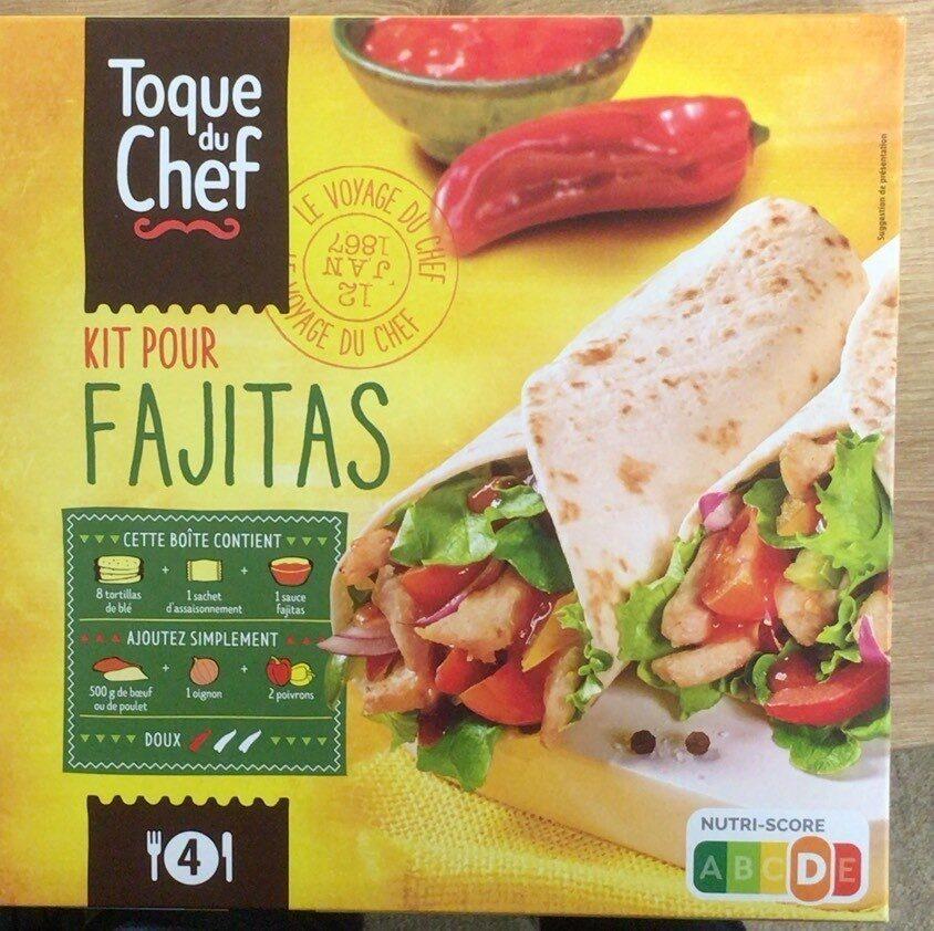 Fajitas wrap kit - Product - fr