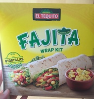 Fajitas wrap kit - Product