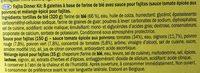 Fajitas wrap kit - Ingrediënten - fr