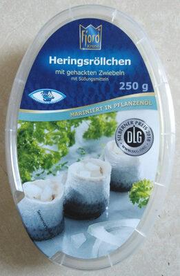 Heringsröllchen mit gehackten Zwiebeln - Product
