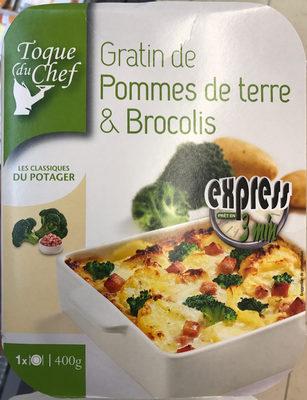 Broccoli-Gratin mit Kartoffeln - Produit - fr
