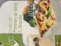 Broccoli-Gratin mit Kartoffeln - Ingrédients - fr