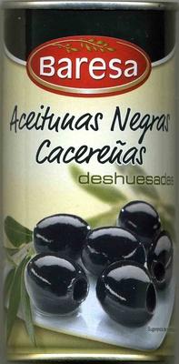 Aceitunas cacereñas negras sin hueso - Producto - es