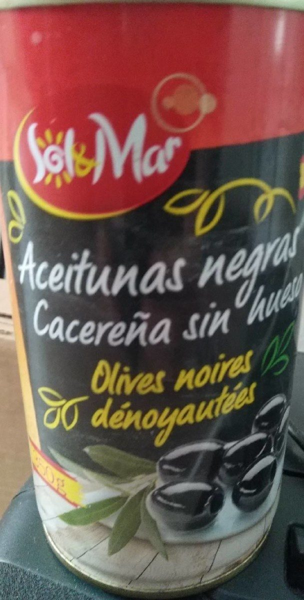 Aceitunas negras sin hueso - Produit - fr