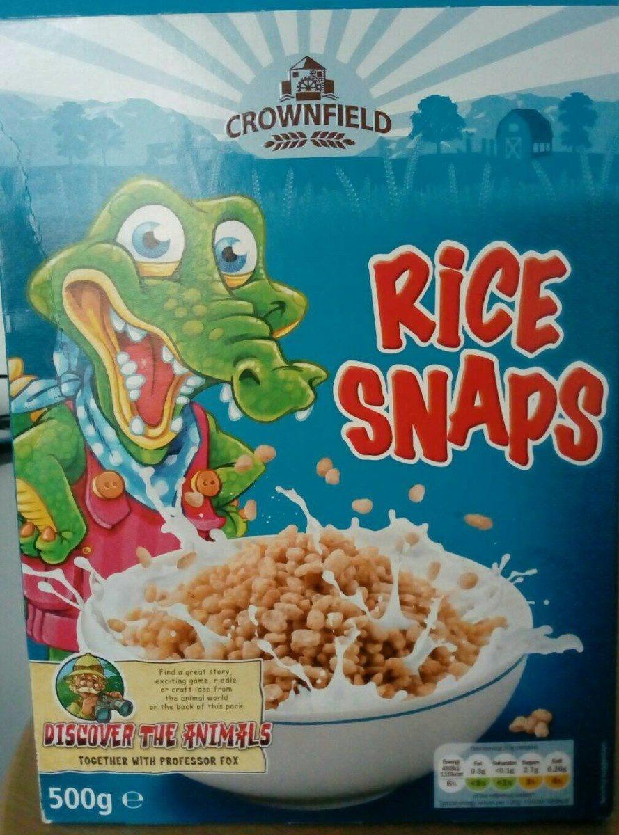Rice Snaps - Product - en