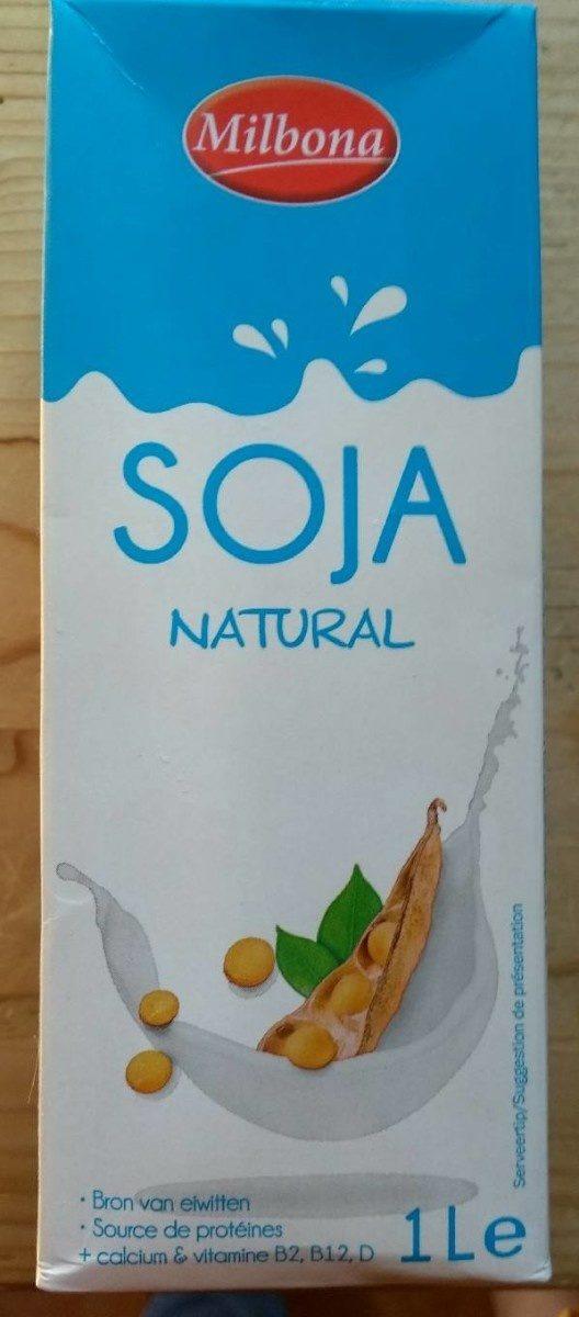 Milbona Soja natural - Product - fr