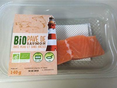 Pavé de saumon bio - Product