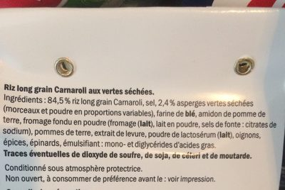 Risotto carnaroli - Ingrédients - fr