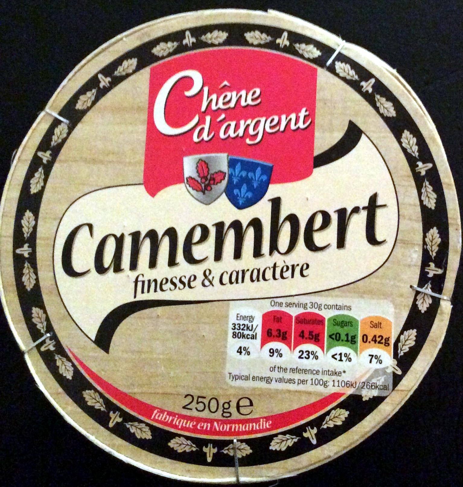 Camembert finesse & caractère - Product - en