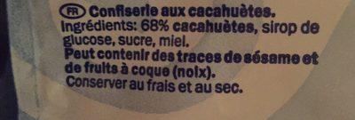 Peanut Bites - Ingredients - fr