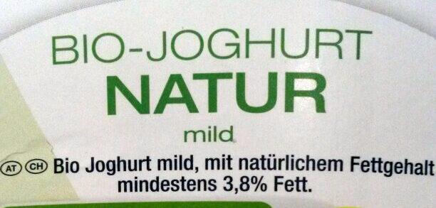 Bio-Joghurt Natur - Ingredients