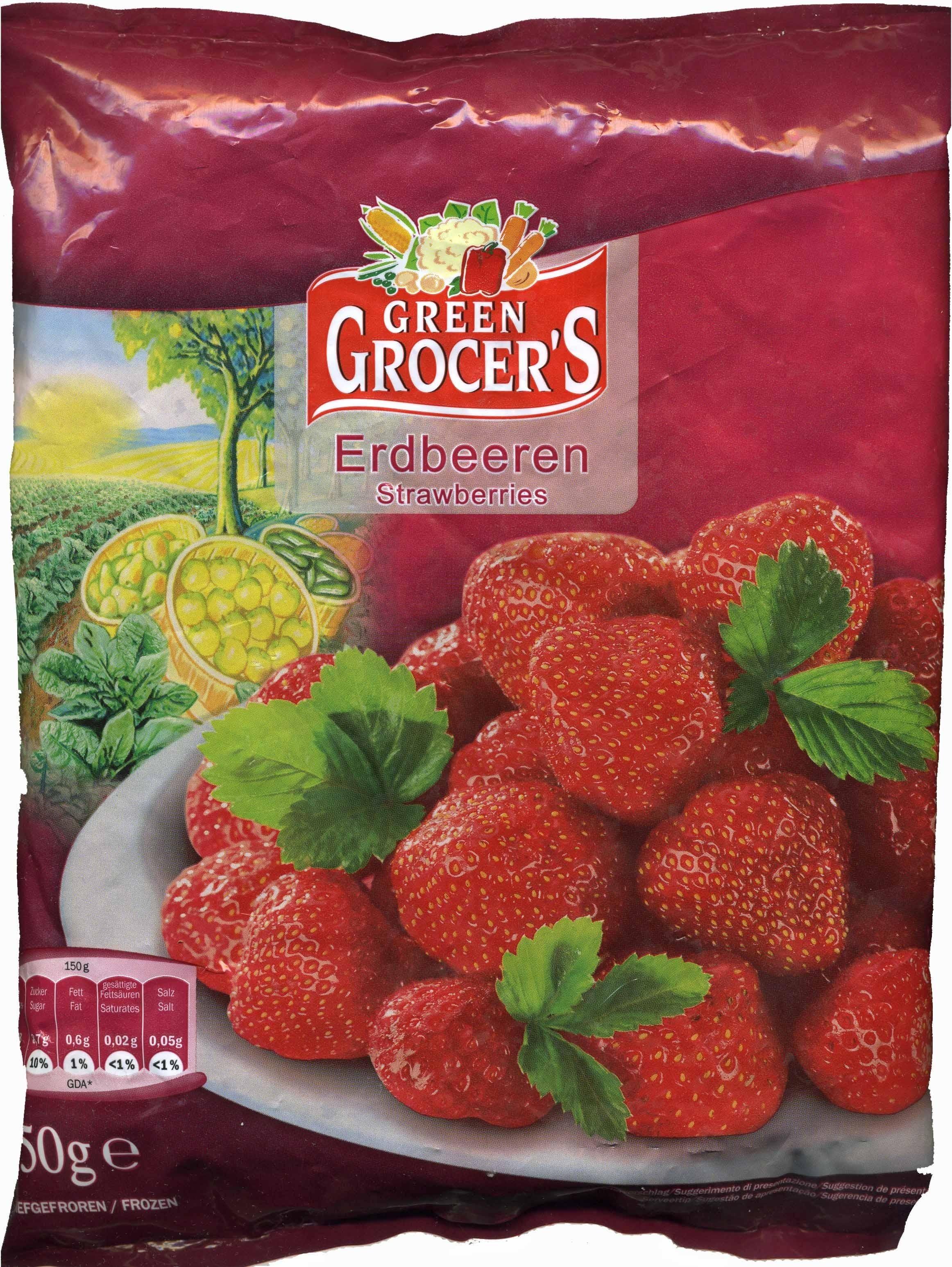 Gefrorene Erdbeeren - Produkt - de
