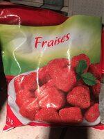 Gefrorene Erdbeeren - Informazioni nutrizionali - es