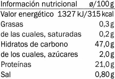 Café soluble descafeinado - Voedingswaarden - es