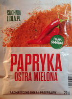 Papryka ostra mielona - Product