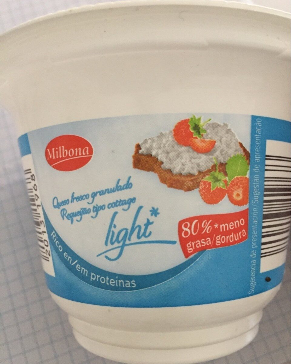 Cottage Cheese light - Informació nutricional - de
