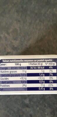 Sardines a l huile d'olive - Nutrition facts - fr