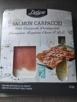 Carpaccio de saumon - Product - fr