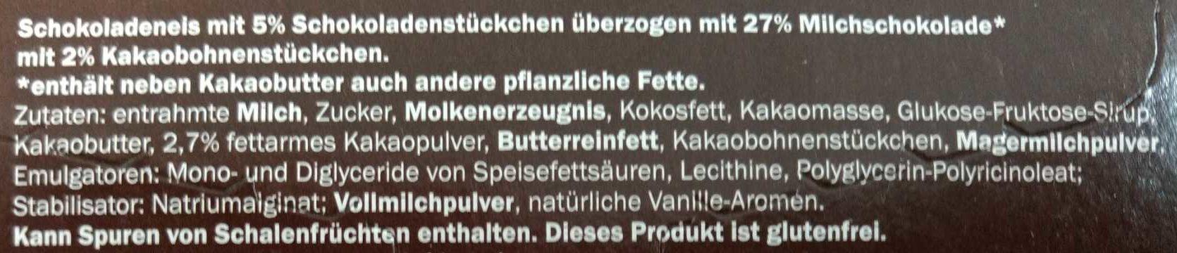 Schoko Crisp - Zutaten