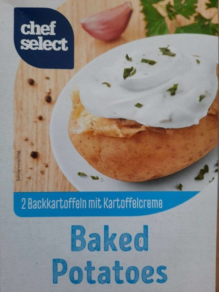 Backkartoffeln, Mit Quark Joghurt Creme - Product - nl