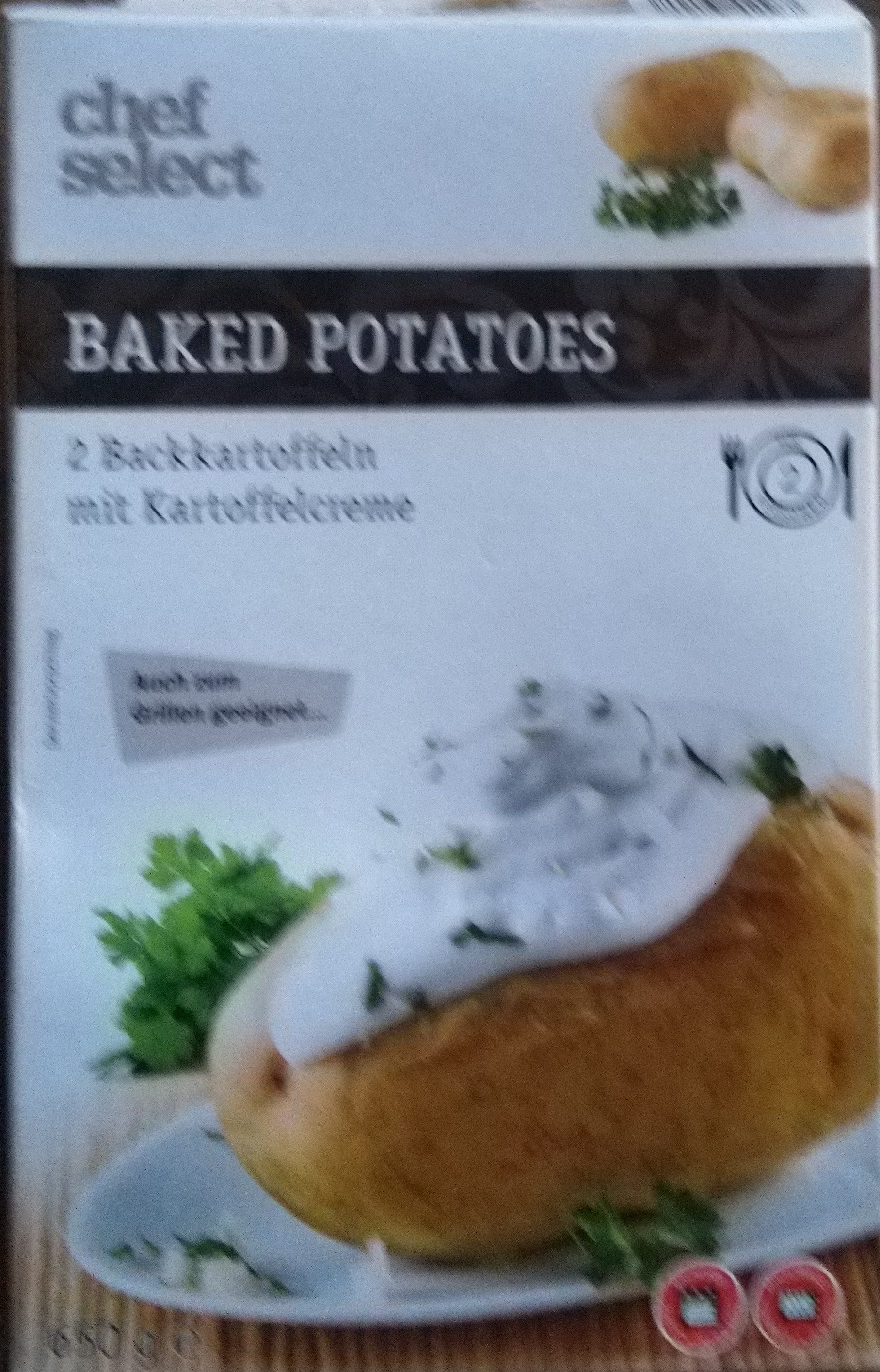 Baked Potatoes - Product - nl