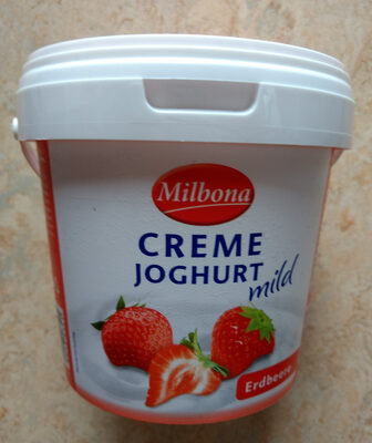Creme Joghurt mild Erdbeere - Product