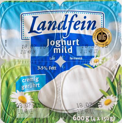 Joghurt mild - Produkt