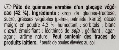 Filet de Poulet - 成分 - fr