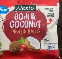 Goji coconut protein balls - Produit - fr