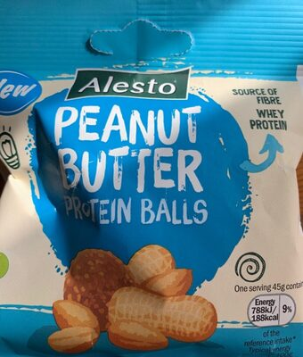 Peanut butter protein balls - Product - en