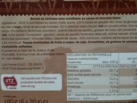 Crowni Pétales de cacao - Ingrediënten - fr