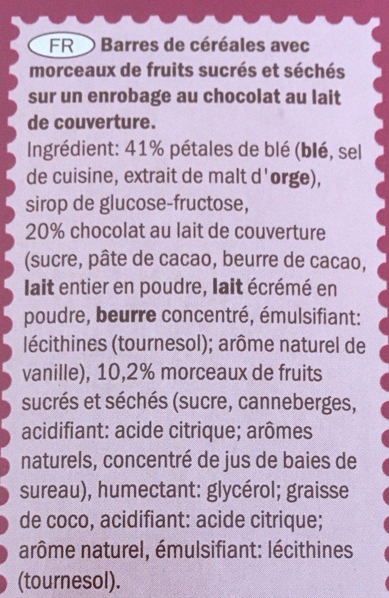 CROWNI - Ingrediënten - fr