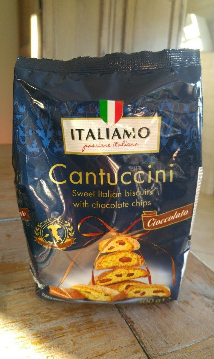 Cantuccini with chocolate chips - Product