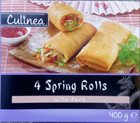 4 Spring Rolls with Pork - Product - sv