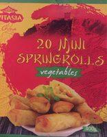 20 Mini-frühlingsrollen Mit Gemüse - Culinea - 400G - Produit - fr