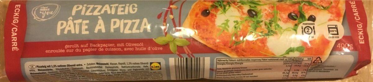Pâte à pizza - Produit - fr