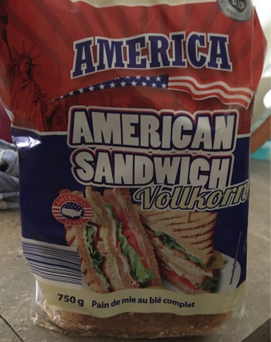 American sandwich vollkorn - Produkt - fr