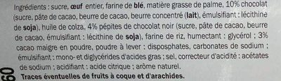 Double Chocolate Cake - Ingredients