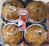 Muffins aux pépites de chocolat noir - Produit