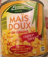Mais doux en grain - Produit - fr
