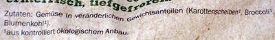Bio Kaisergemüse - Ingrediënten