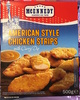 American Style Chicken Strips with Curry Dip - Produit