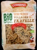 Original italienische Vollkorn Farfalle - Produkt