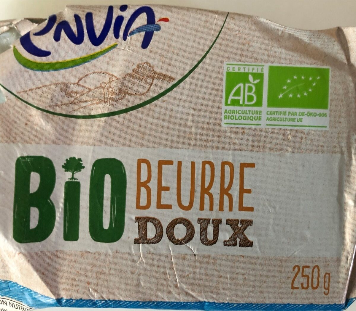 Beurre doux Bio - Produit - es